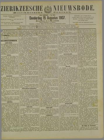 Zierikzeesche Nieuwsbode 1907-08-15