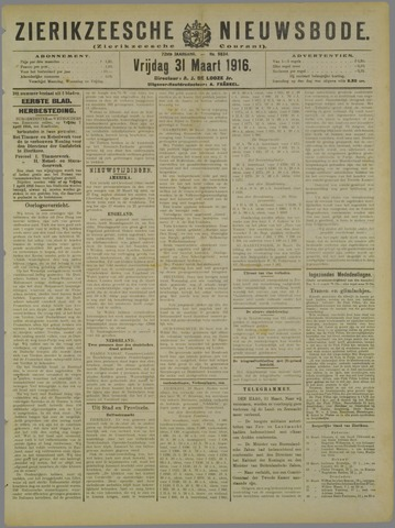 Zierikzeesche Nieuwsbode 1916-03-31