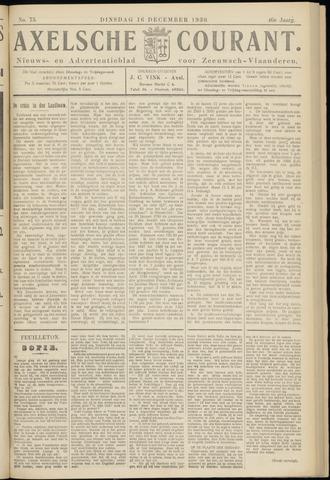 Axelsche Courant 1930-12-16
