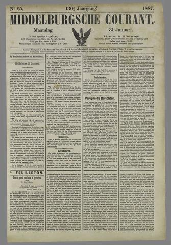 Middelburgsche Courant 1887-01-31