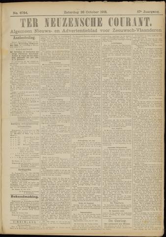 Ter Neuzensche Courant. Algemeen Nieuws- en Advertentieblad voor Zeeuwsch-Vlaanderen / Neuzensche Courant ... (idem) / (Algemeen) nieuws en advertentieblad voor Zeeuwsch-Vlaanderen 1918-10-26