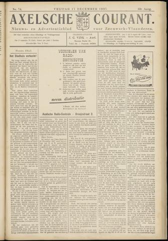 Axelsche Courant 1937-12-17