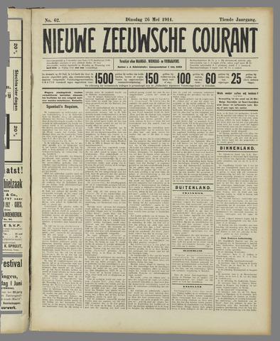 Nieuwe Zeeuwsche Courant 1914-05-26