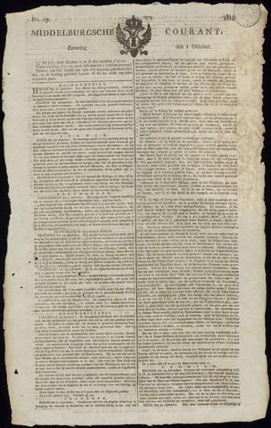 Middelburgsche Courant 1814-10-01
