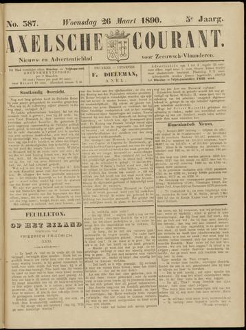 Axelsche Courant 1890-03-26