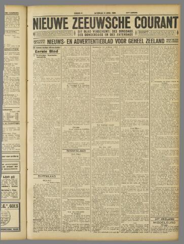 Nieuwe Zeeuwsche Courant 1928-04-21