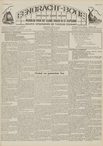 Eendrachtbode (1945-heden)/Mededeelingenblad voor het eiland Tholen (1944/45) 1957