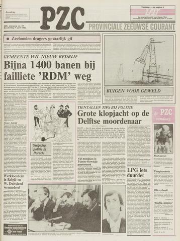 Provinciale Zeeuwse Courant 1983-04-07