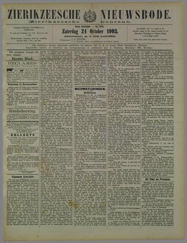 Zierikzeesche Nieuwsbode 1903-10-24