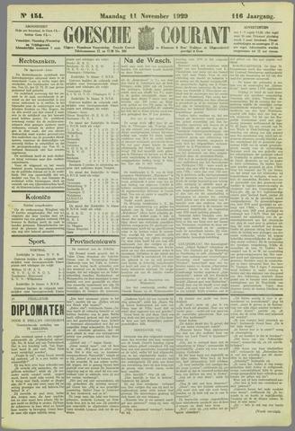 Goessche Courant 1929-11-11