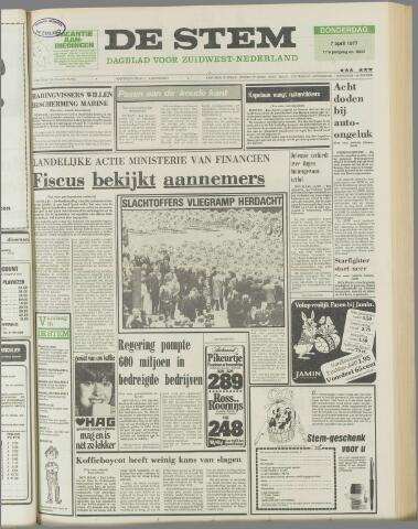 de Stem 1977-04-07