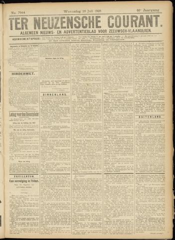 Ter Neuzensche Courant. Algemeen Nieuws- en Advertentieblad voor Zeeuwsch-Vlaanderen / Neuzensche Courant ... (idem) / (Algemeen) nieuws en advertentieblad voor Zeeuwsch-Vlaanderen 1926-07-28