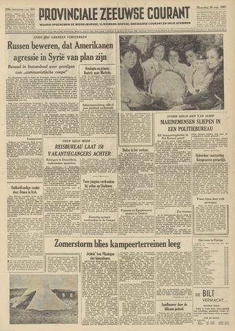 Provinciale Zeeuwse Courant 1957-08-26