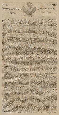 Middelburgsche Courant 1775-03-21