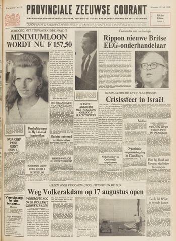 Provinciale Zeeuwse Courant 1970-07-29