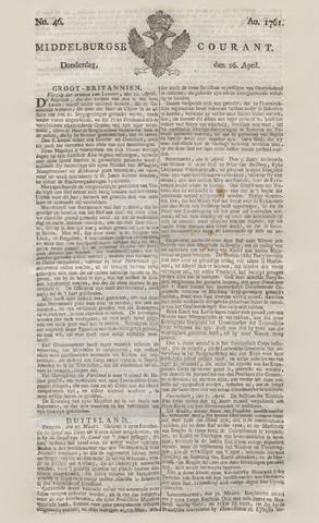 Middelburgsche Courant 1761-04-16