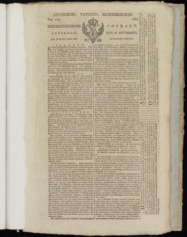 Middelburgsche Courant 1801-09-26