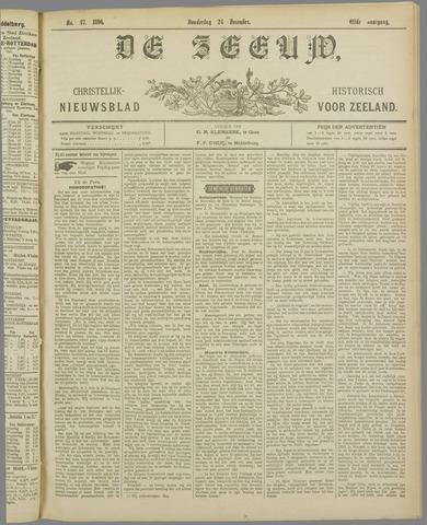 De Zeeuw. Christelijk-historisch nieuwsblad voor Zeeland 1896-12-24