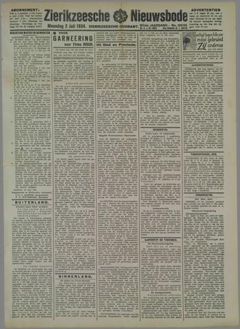 Zierikzeesche Nieuwsbode 1934-07-02