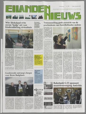 Eilanden-nieuws. Christelijk streekblad op gereformeerde grondslag 2007-12-07