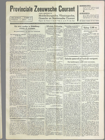 Provinciale Zeeuwse Courant 1940-06-07