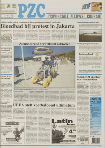 Provinciale Zeeuwse Courant 1998-05-13