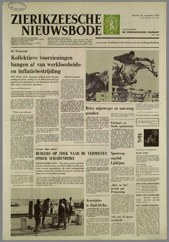 Zierikzeesche Nieuwsbode 1976-09-21