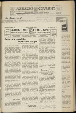 Axelsche Courant 1952-02-13