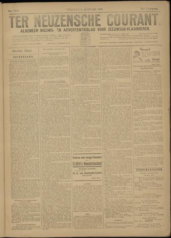 Ter Neuzensche Courant. Algemeen Nieuws- en Advertentieblad voor Zeeuwsch-Vlaanderen / Neuzensche Courant ... (idem) / (Algemeen) nieuws en advertentieblad voor Zeeuwsch-Vlaanderen 1931-01-02
