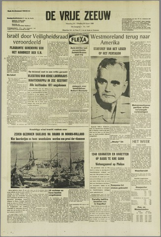 de Vrije Zeeuw 1968-03-25