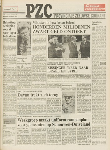 Provinciale Zeeuwse Courant 1974-02-20