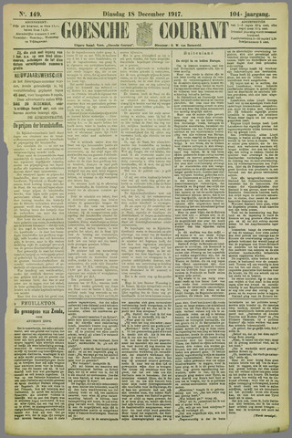 Goessche Courant 1917-12-18