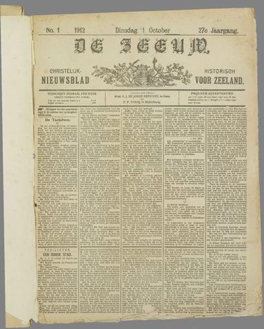 De Zeeuw. Christelijk-historisch nieuwsblad voor Zeeland 1912-10-01