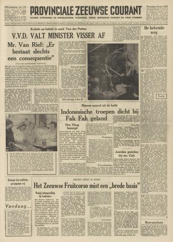 Provinciale Zeeuwse Courant 1962-05-16