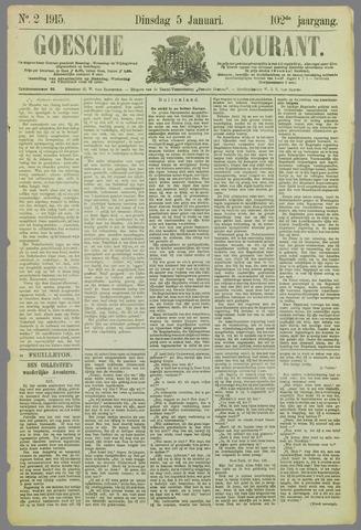 Goessche Courant 1915-01-05
