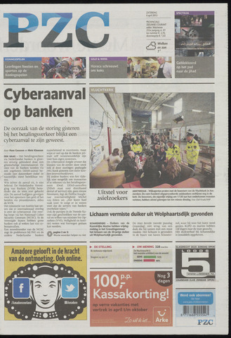 Provinciale Zeeuwse Courant 2013-04-06