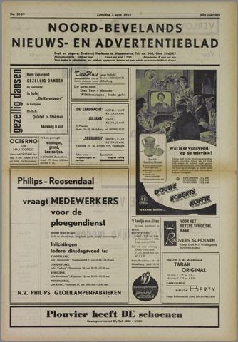 Noord-Bevelands Nieuws- en advertentieblad 1965-04-03