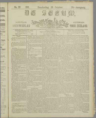 De Zeeuw. Christelijk-historisch nieuwsblad voor Zeeland 1911-10-26