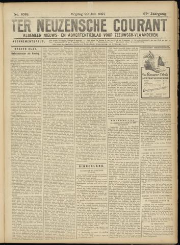 Ter Neuzensche Courant. Algemeen Nieuws- en Advertentieblad voor Zeeuwsch-Vlaanderen / Neuzensche Courant ... (idem) / (Algemeen) nieuws en advertentieblad voor Zeeuwsch-Vlaanderen 1927-07-29