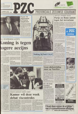 Provinciale Zeeuwse Courant 1986-11-19