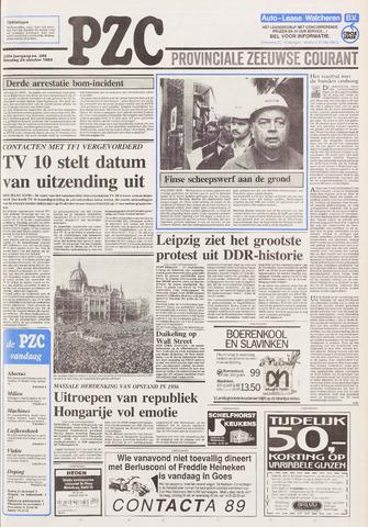 Provinciale Zeeuwse Courant 1989-10-24