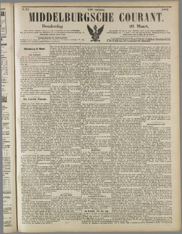 Middelburgsche Courant 1903-03-26