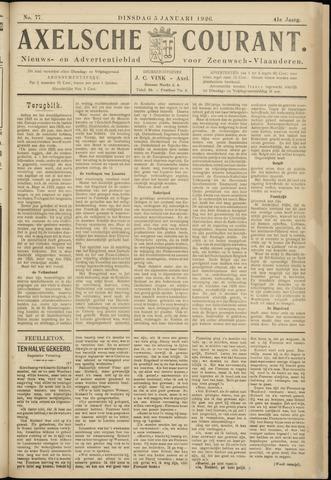 Axelsche Courant 1926-01-05