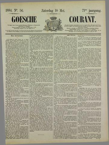 Goessche Courant 1884-05-10