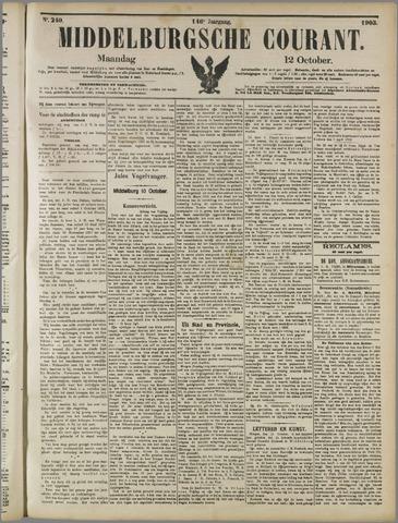 Middelburgsche Courant 1903-10-12