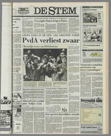 de Stem 1989-08-24