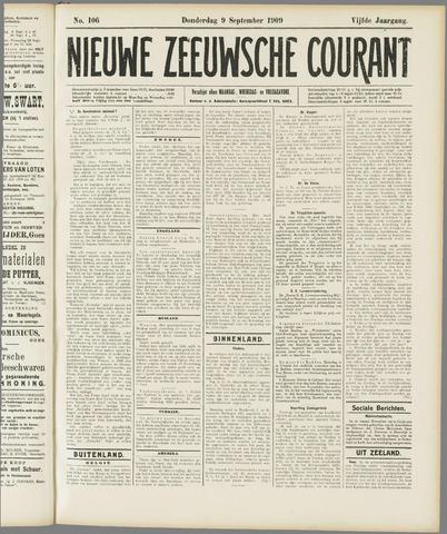 Nieuwe Zeeuwsche Courant 1909-09-09