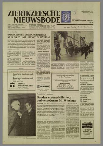 Zierikzeesche Nieuwsbode 1974-04-12