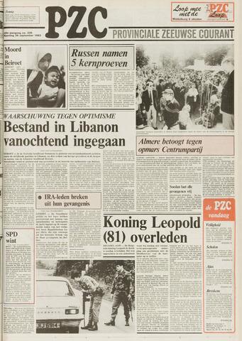 Provinciale Zeeuwse Courant 1983-09-26