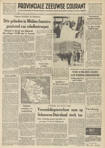 Provinciale Zeeuwse Courant 1958-03-12